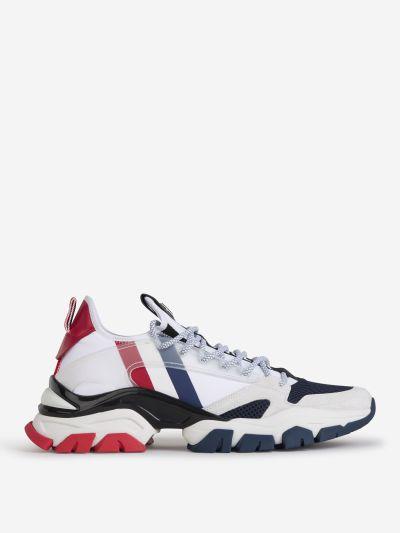 Contrast Panel Sneakers
