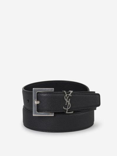 Monogram Belt Buckle