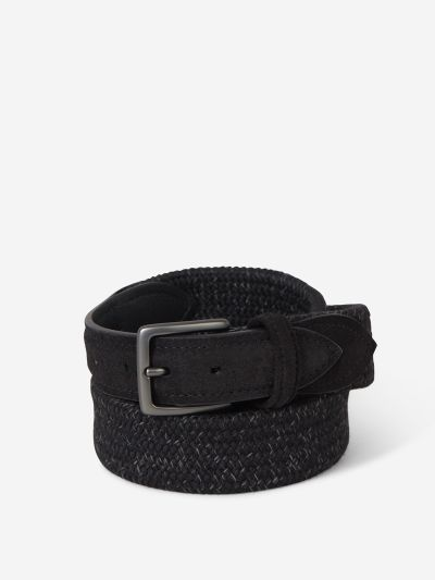 Braided Belt Suede Details