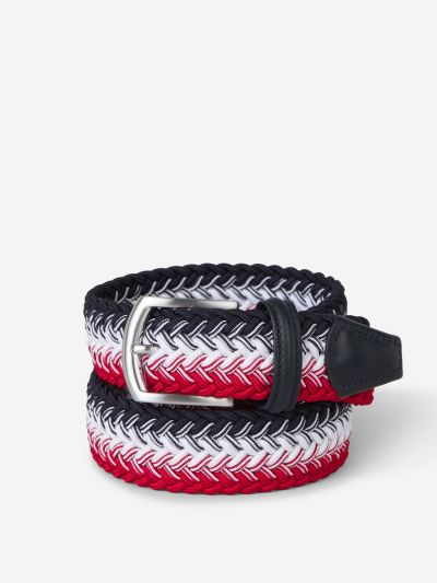 Braided Belt Leather Details