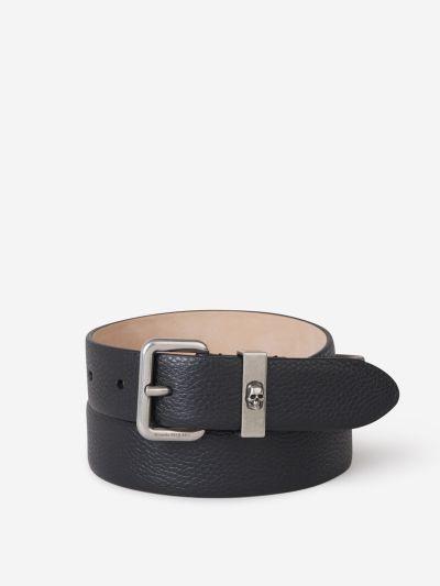 Leather Biker Belt