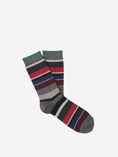 Striped Cotton Socks