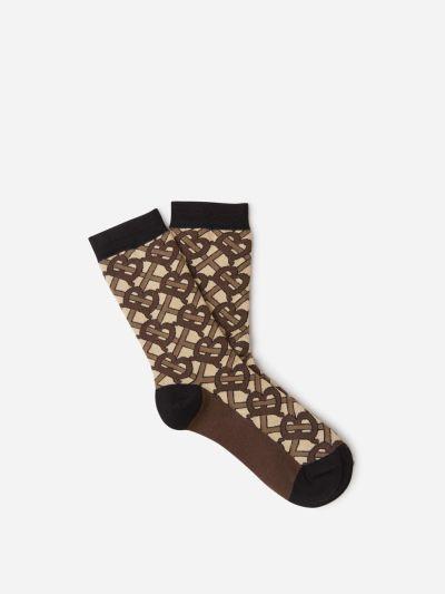TB Monogram Socks