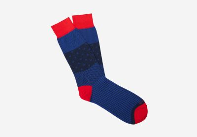 Houndstooth socks