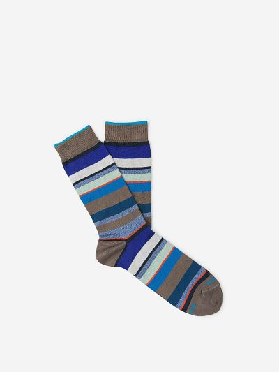 Multicolour Striped Socks