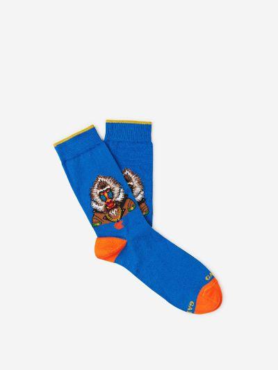 Monocolour Baboon Socks