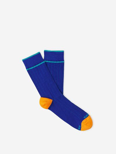 Ribbed Coloured Socks