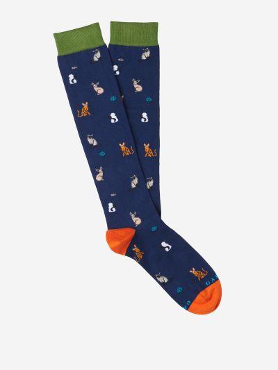Long Animal Socks