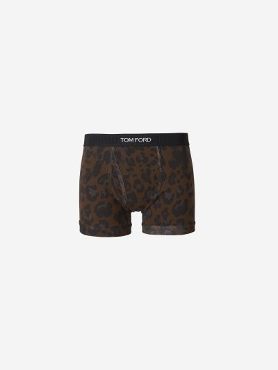 Leopard Boxer brief
