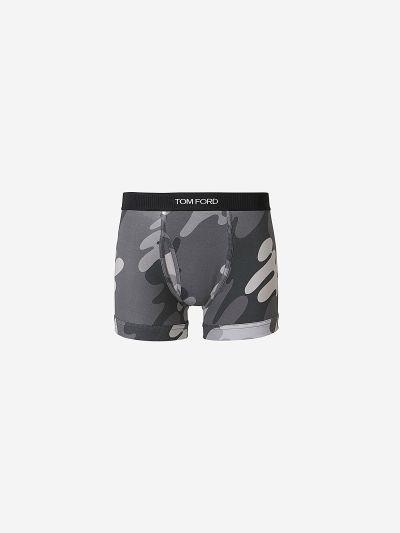 Camouflage boxer briefs