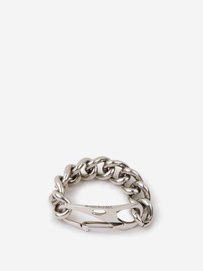 Carabiner Chain Bracelet