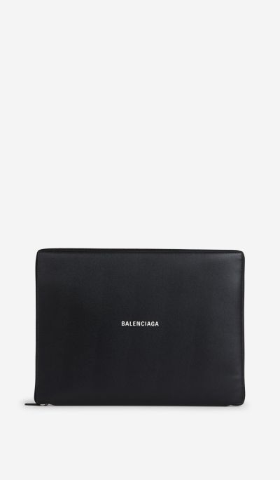 Leather Logo Briefcase
