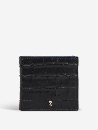 Embossed Croc Wallet