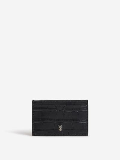 Croco Leather Cardholder