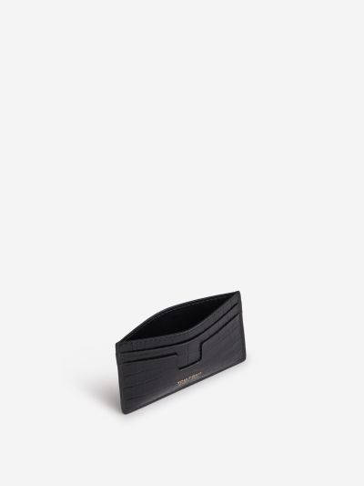 Croco Leather Effect Wallet