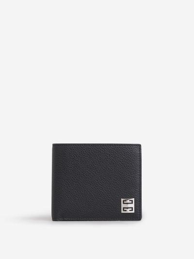 Metallic Logo Wallet