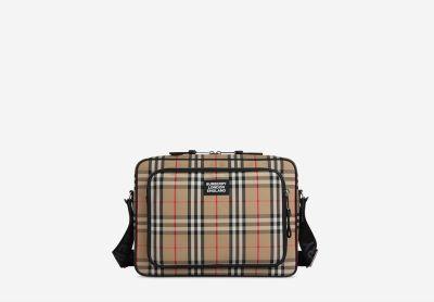 Vintage checkered bag