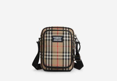 Vintage Checks Shoulder Bag