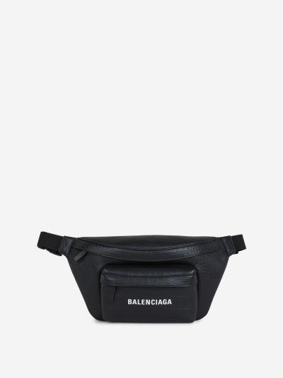 Crocodile Effect Belt Bag