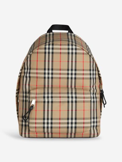 Mochila Nylon Vintage Checks