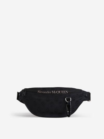 Skull Motif Belt Bag