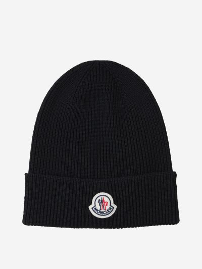 Ribbed Hat with Patch