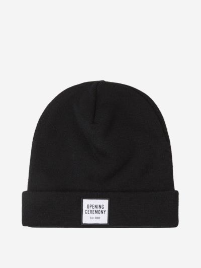 Wool Patch Beanie