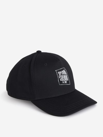 Warped Logo Cap