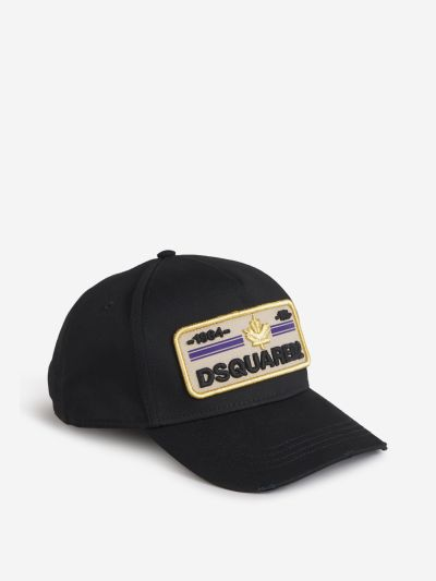 Contrast Embroidered Cap