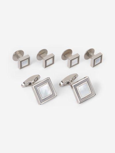 Cufflinks Button Set