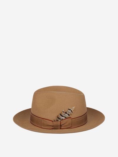 Fedora style hat