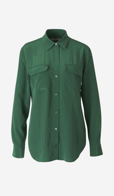 Camisa Crepé Seda