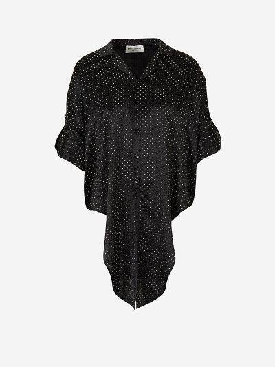Blusa Satén Anudada