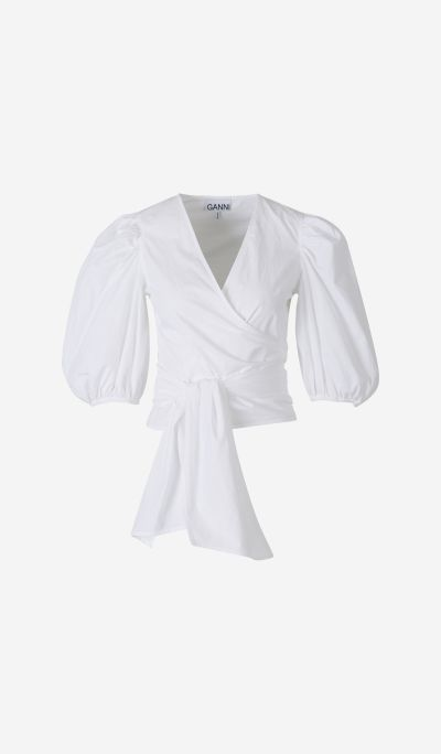 Camisa Popelín Cruzada