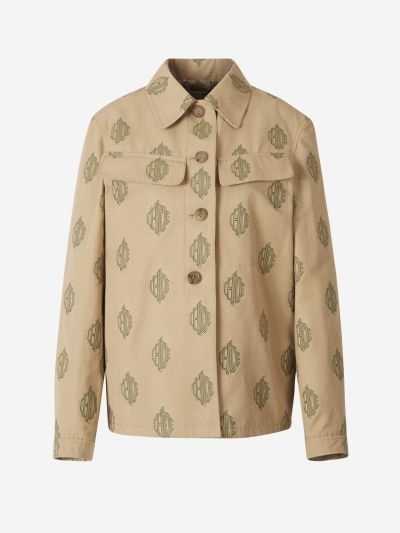 Jacquard Monogram Jacket
