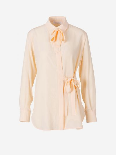 Crepe Laced Shirt