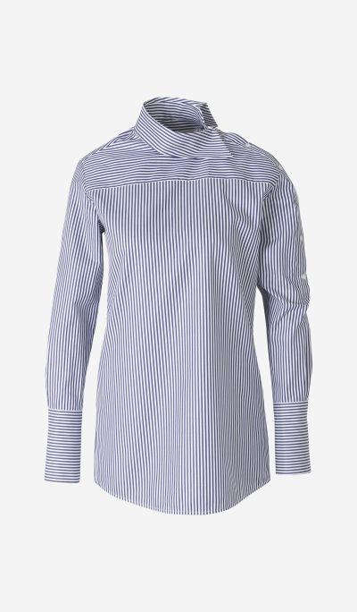 Camisa Cuello Asimétrico