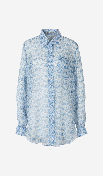 Camisa Gasa Floral