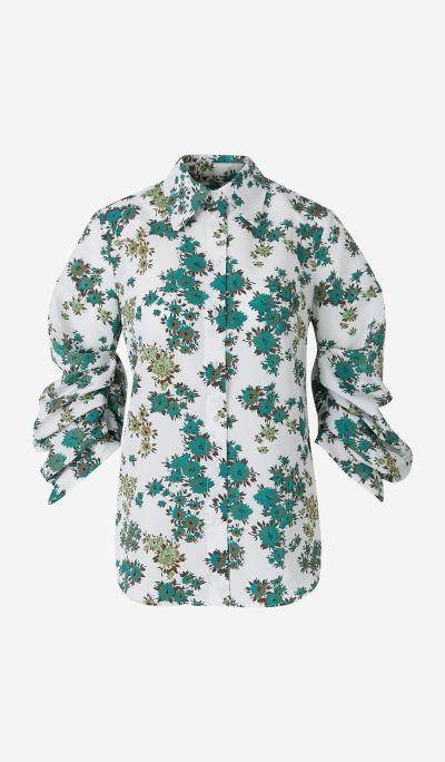 Floral Cloqué Shirt