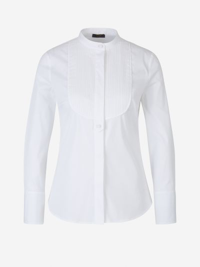 Cotton Bib Shirt