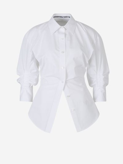 Ruched Sleeves Shirt