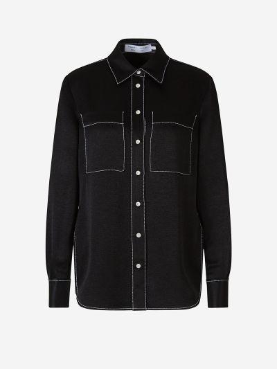 Camisa Crepé Fluida