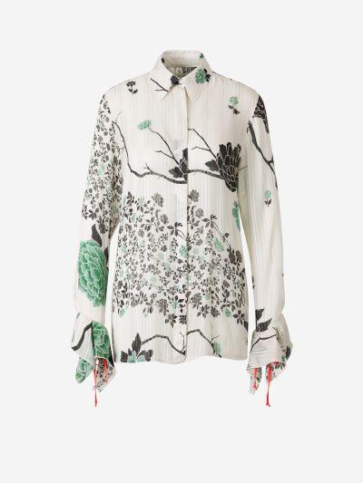 Blusa Crepé Floral