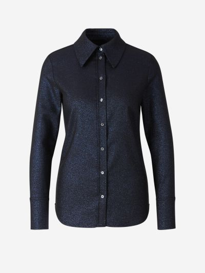 Fitted Lurex Shirt