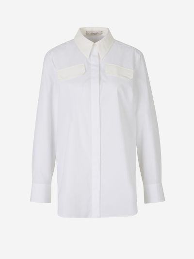 Camisa Popelina Detalles Seda