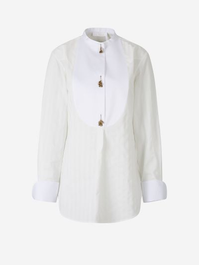 Charm Button Blouse
