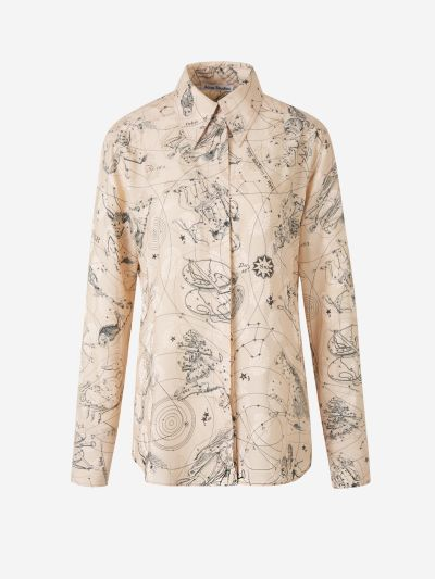 Constellations Print Shirt