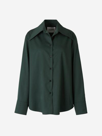 Oversize Wool Shirt