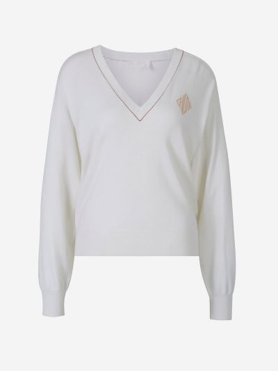 Monogram Fine Knit Sweater