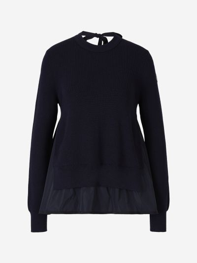 Wool Nylon Sweater